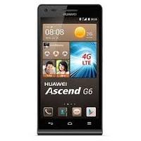 Huawei Ascend G6 4G Noir, Système d'exploitation : Android (Smartphone)