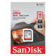 Sandisk MicroSD Card 16GB SanDisk SDHC Ultra 80MB/sec