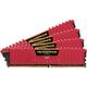 Corsair CL15 (4x4GB) Vengeance Red DDR4 16GB PC 3200
