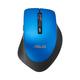Asus WT425 RF sans fil Optique 1600DPI Noir, Bleu Droitier