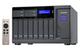 Qnap TVS-1282 NAS Tour Ethernet/LAN Gris