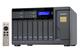 Qnap TVS-1282T NAS Tour Ethernet/LAN Gris
