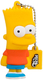 Hitechpc Bart Simpson 8GB USB 2.0 8Go USB 2.0 Type-A Multicolore