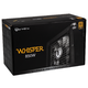 BitFenix Whisper M 80 Plus Gold Modulaire 850 Watts
