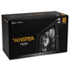 BitFenix Whisper M 80 Plus Gold Modulaire 750 Watts