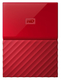 Western Digital My Passport 2TB 3.0 (3.1 Gen 1) 2000Go Rouge