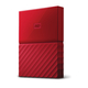 Western Digital My Passport 3.0 (3.1 Gen 1) 3000Go Rouge