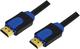 Hitechpc CHB1103 3m HDMI HDMI Noir, Bleu câble HDMI