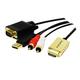 Hitechpc CV0052A câble vidéo et adaptateur
