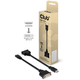 Club3D HDMI to DVI-I Single Link Adapter Cable HDMI DVI Noir