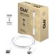 Club3D CAC-1073 Displayport 1.2 HDMI 2.0 Blanc adaptateur et