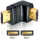 Delock Adapter HDMI male > HDMI male 90° down HDMI 1.3 HDMI 1.3
