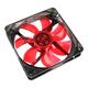 Cooltek Silent Fan 120 Red LED Boitier PC Refroidisseur