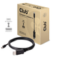 Club3D Mini DisplayPort to DisplayPort Cable M/M 2Meter