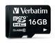 Verbatim 16GB microSDHC 16Go MicroSDHC Classe 10 mémoire flash