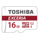 Toshiba EXCERIA M302-EA 16Go MicroSDHC UHS-I Classe 10 mémoire