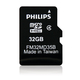 Philips Cartes Micro SD FM32MD35B/10 mémoire flash