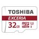 Toshiba EXCERIA M302-EA 32Go MicroSDHC UHS-I Classe 10 mémoire