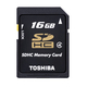 Toshiba N102 16Go SDHC Classe 4 mémoire flash
