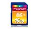 Transcend TS16GSDHC10 16Go SDHC Classe 10 mémoire flash