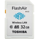 Toshiba FlashAir W-03 32GB 32Go SDHC Classe 10 mémoire flash