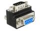 Delock 65593 VGA VGA Noir, Argent adaptateur et connecteur de