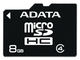AData 8GB MicroSD Class 4 8Go MicroSD Classe 4 mémoire flash