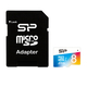 Silicon Power 8GB microSDHC 8Go MicroSDHC UHS-I Classe 10 mémoire flash