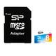 Silicon Power 8GB microSDHC 8Go MicroSDHC UHS-I Classe 10 mémoire flash