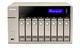 Qnap TVS-863+ NAS Tour Ethernet/LAN Or