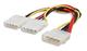 Manhattan Power Y-Cable 0.2m Multicolore