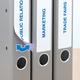 Herma 10158 Bleu Imprimante d'étiquette adhésive étiquette à