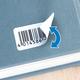 Herma 10000 Blanc Imprimante d'étiquette adhésive étiquette à