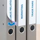 Herma 10156 Jaune Imprimante d'étiquette adhésive étiquette à