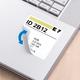Herma 10107 Blanc Imprimante d'étiquette adhésive étiquette à