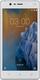 Nokia 3 SIM unique 4G 16Go Argent, Blanc
