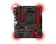 MSI A320M GAMING PRO AMD A320 Socket AM4 Micro ATX carte mère