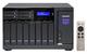 Qnap TVS-1282 NAS Tour Ethernet/LAN Noir