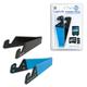 LogiLink AA0039B Universel Support passif Noir, Bleu support