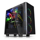 Thermaltake View 21 Tempered Glass Edition Boîtier Midi-tour Noir