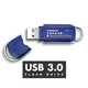 Integral 8GB Courier FIPS 197 8Go USB 3.0 (3.1 Gen 1) Type A Bleu,